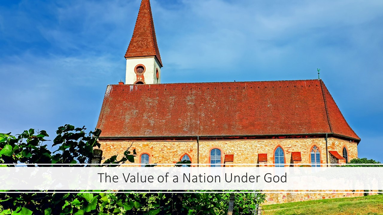 The Value of a Nation Under God