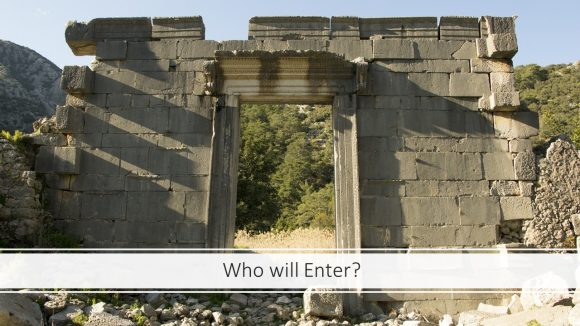 Who Will Enter