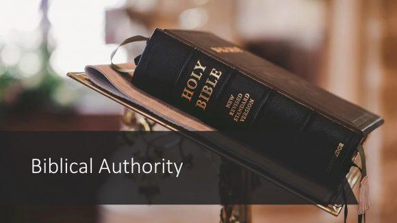 Biblical Authority
