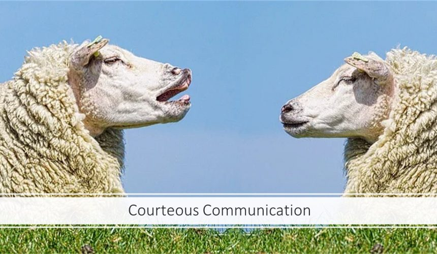 Courteous Communication