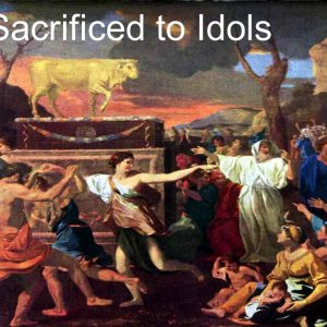 Meat Sacrificed to Idols