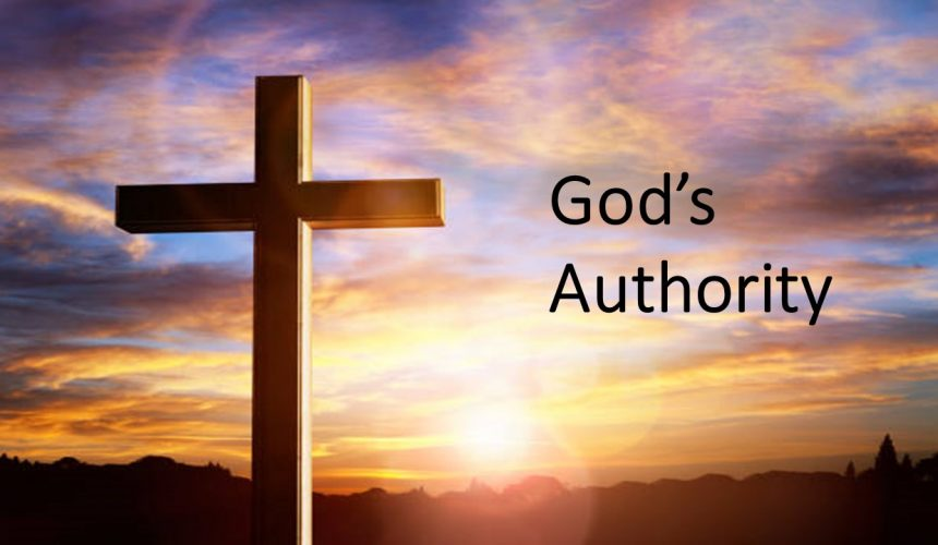 God's Authority