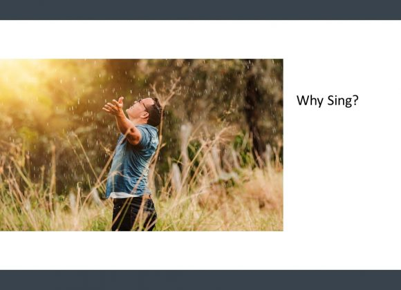 Why Sing
