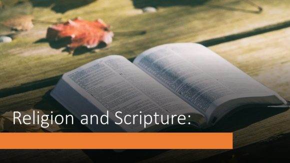 Scripture and Religion