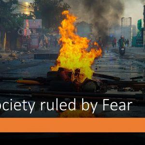 Society Ruled By Fear