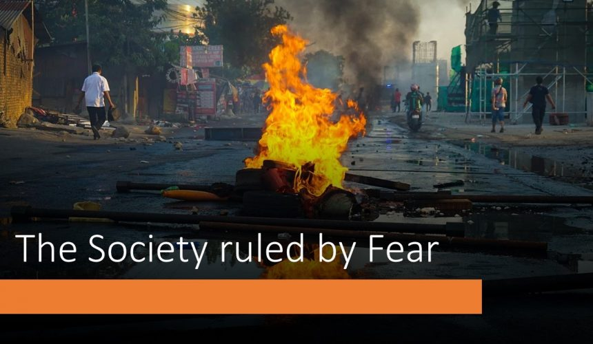 Society Ruled By Fear